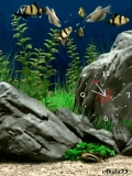 Animated Aquarium & Sea Clock