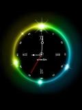 Neon Light Clock